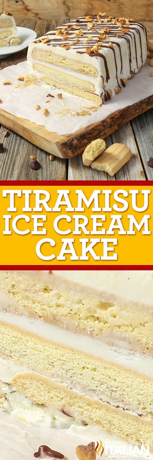 Tiramisu Ice Cream Cake is an unforgettable transformation of a the classic Italian dessert into a simple recipe for a glorious ice cream cake unlike anything you have had before. It is rich, creamy, and absolutely special occasion worthy! #MedagliadOroMoment #ad