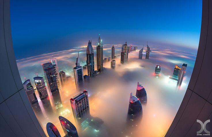 Фото - путешествия по миру: Дубай окутанный туманом в 2019 ...