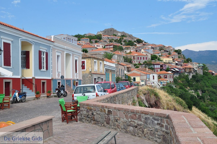 Molyvos with castle