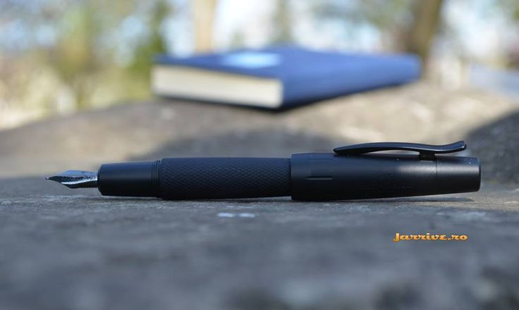 E-motion PURE Black Fountain Pen