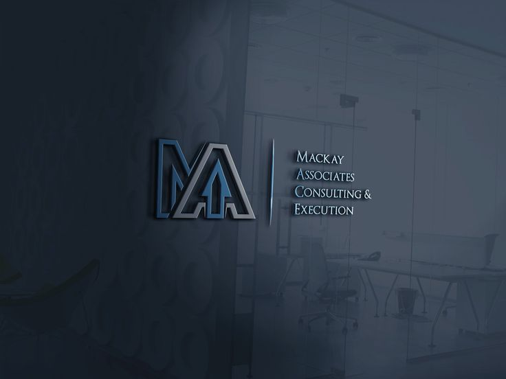 Design Entry For Logo Contest Mackay Associates Consulting Execution Added By Designer Dinamic