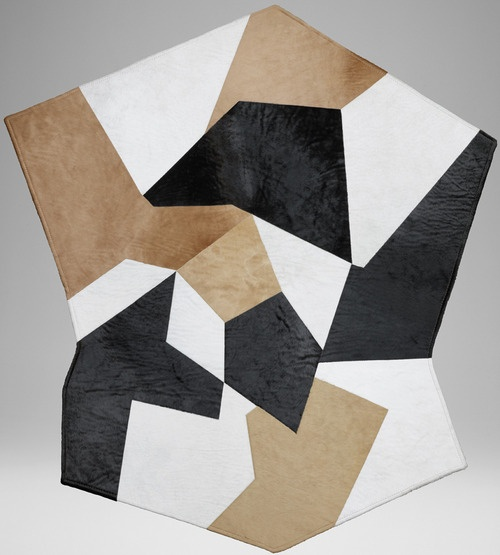 Gio Ponti Hide rug available @ SMINK!