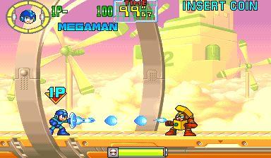 """Dieses Mega Man-Spiel erschien als """"Rockman: The Power Battle"""" (ロックマン・ザ・パワーバトル) in Japan. Es ist ein Arcade-Spiel von Mega Man, das 1995 in Japan erschien. Das Spiel ist in der Mega Man Anniversary Collection für die PS2, Nintendo GameCube und Xbox erschienen. Entwickelt und veröffentlicht wurde es von Capcom. Die Handlung Der böse Dr.   #MegaMan:ThePowerBattle"""