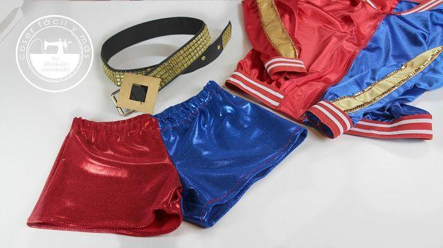 """El blog de """"Coser fácil y más by Menudo numerito"""" - Costura creativa: Disfraz de Harley Quinn del Escuadrón Suicida: pantalones"""