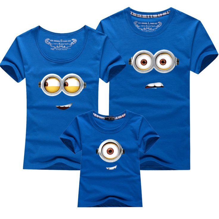 Family Matching Minions T-Shirts