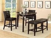 [Cypress 4-Piece Counter Height Pub Style Dining Package]