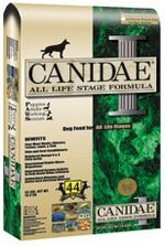 "Canidae Dog Food Recall due to salmonella - May 4, 2012. 15 different brands of dog food recalled - many ""premium"" brands.  All made in 1 plant in SC - why don't they have better QC??  People (and dogs) are getting sick!"