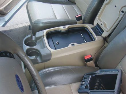 Ford Excursion Floor Console vault: 2000 - 2005