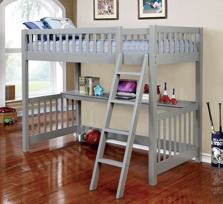 Aiken Transitional Loft Bed