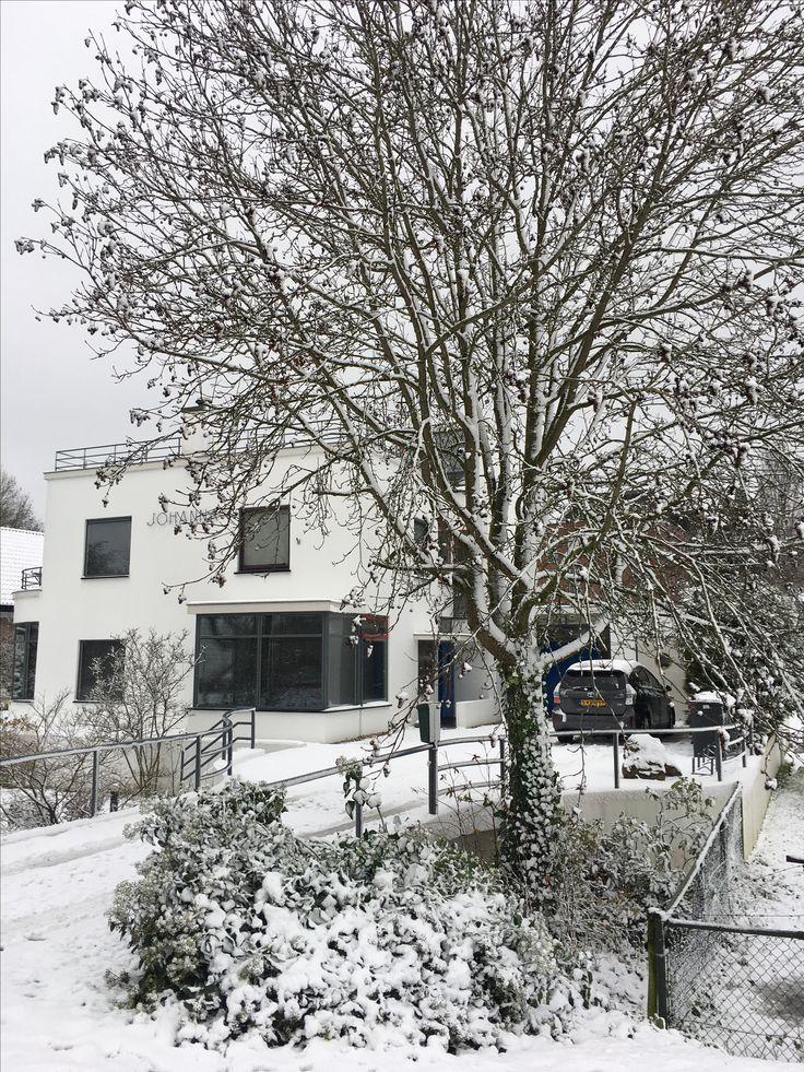 Villa Johanna winterlandschap