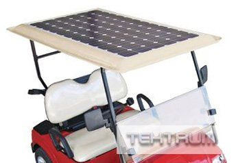 Tektrum Universal 120 watt 120w 36v Solar Panel Battery Charger Kit for Golf Cart
