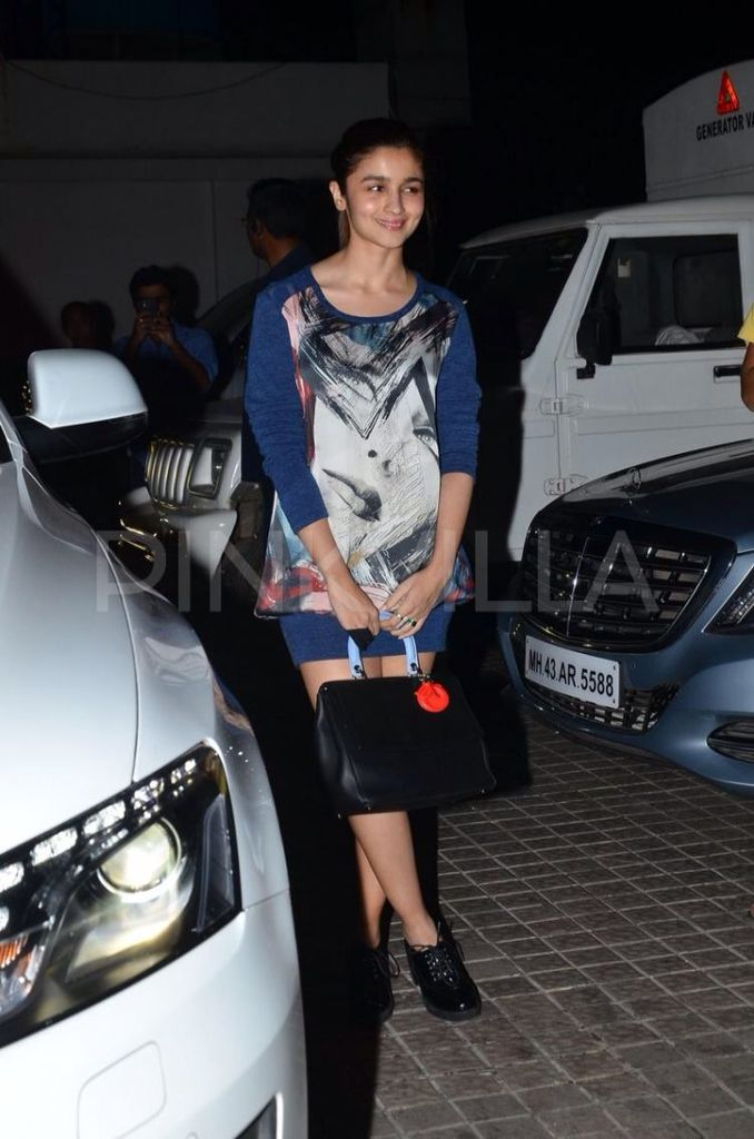 "Alia catch a screening of ""Ugly""."