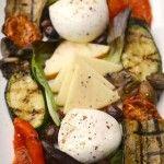 Verdure alla Griglia con Mozzarella o Caprino | Antipasti Veloci