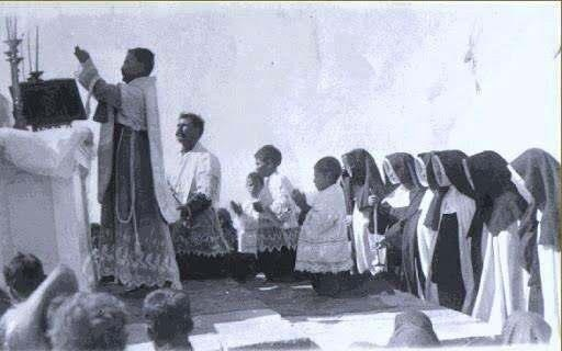 Mass during the Cristero War, Mexico.                                                                                                                                                                                 More