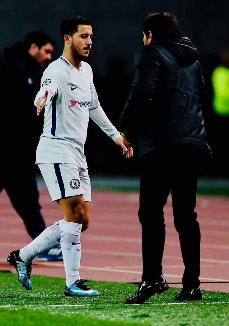 2017/11/23 Qarabag 0-4 Chelsea - Eden Hazard (Photo credit : The Guardian)