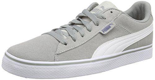Puma Puma 1948 Vulc, Unisex-Erwachsene Sneakers, Grau (limestone gray-white 01), 42 EU (8 Erwachsene UK) - http://on-line-kaufen.de/puma/42-eu-puma-puma-1948-vulc-unisex-erwachsene-2