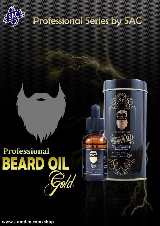 SAC Beard Oil GOLD 30ml - Nourish - Grow - Strengthen