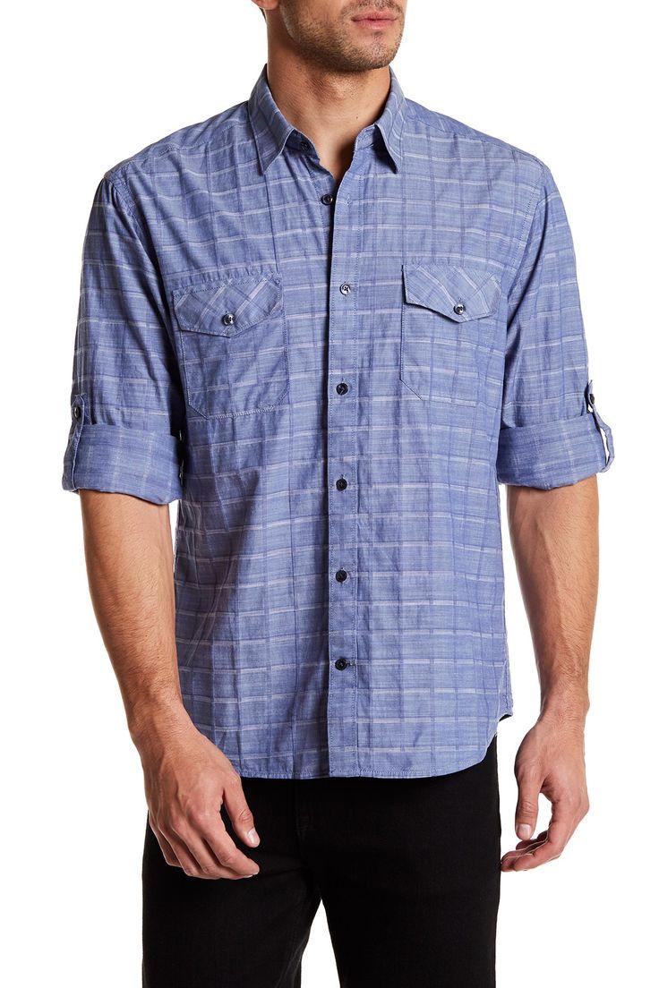 Serif Plaid Regular Fit Shirt