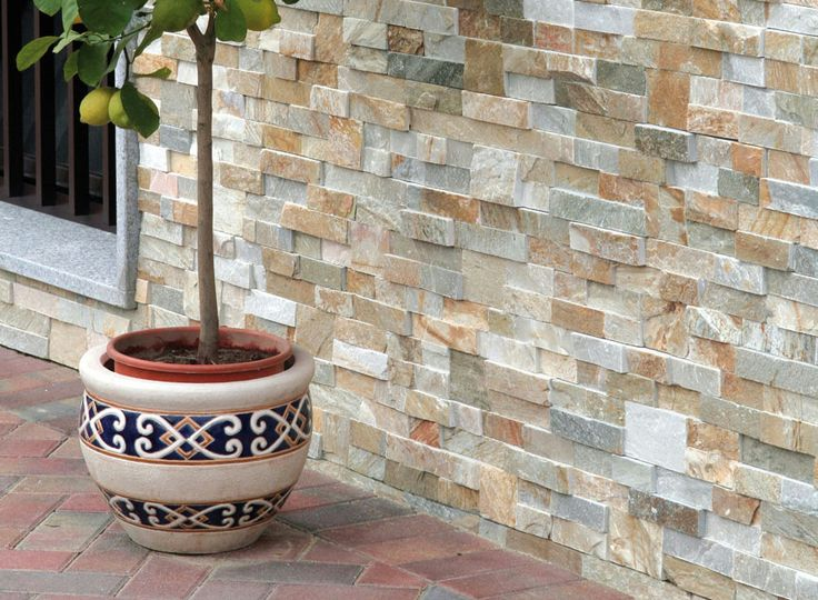 Revestimiento de fachada de piedra natural SCAGLIA by B                                                                                                                                                                                 Más