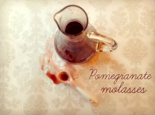 Have you tried making delicious #Pomegranate #Molasses with the #Thermomix ? It's that easy!