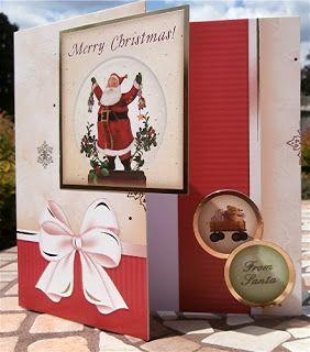 Christmas card @ My Crafty Outlook!