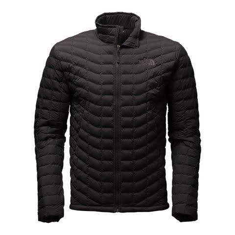 The North Face Men's Stretch Thermoball Jacket - Tnf Black: Now crafted of durable stretch taffeta to move… #OutdoorGear #Camping #Hiking