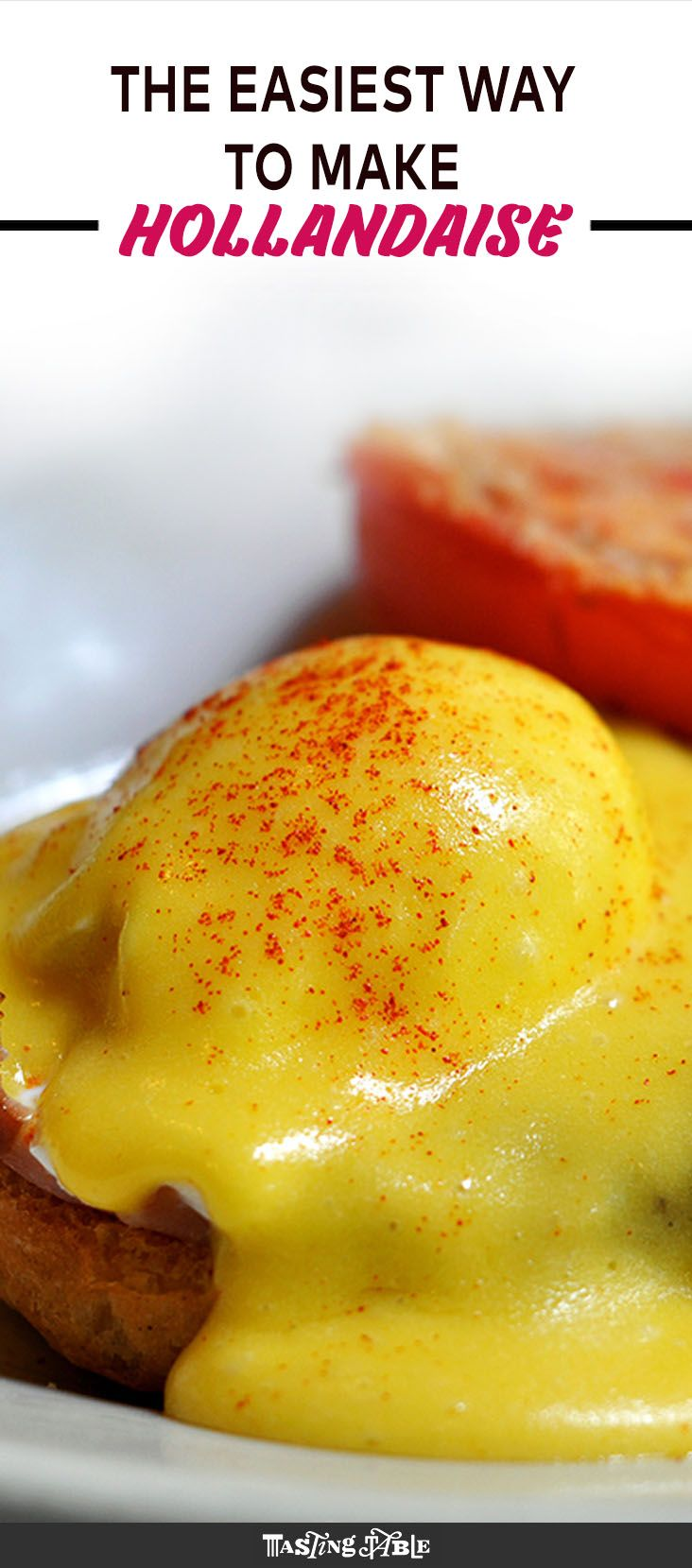 If you think you can't make hollandaise at home, think again. Our friends at Extra Crispy share an easy, foolproof hack.
