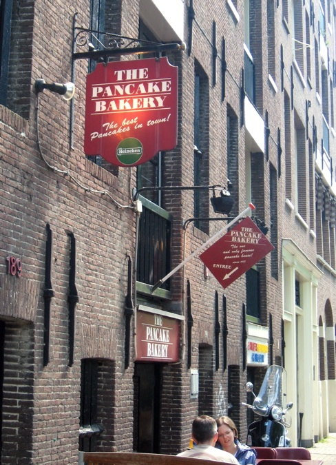 """The Pancake Bakery"",Amsterdam.  tasted it,liked it."
