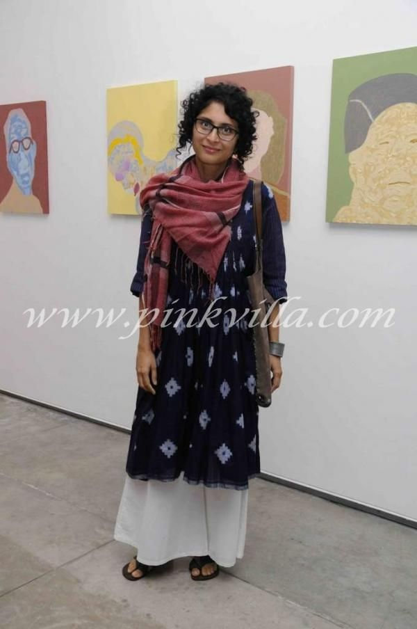 Kiran Rao at the Chemould art gallery anniversary