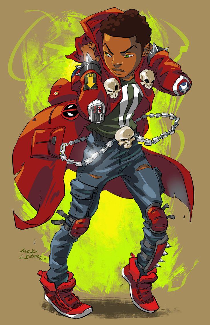 Character Design Jobs In Atlanta : Feature atlanta based illustrator marcus williams league