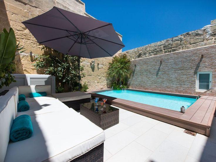 #malte #vacances #soleil #terrasse #piscine #transat