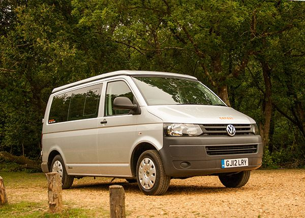 Meet Ash our 2012 VW T5complete with Ashton Autohaus interior. Bought in the summer of 2015 Ash carries every 'Mod-Con' you could ever need for a relaxed and enjoyable campervan experience. Complete with smev 2-ringgas hob, grill, sink, oven & fridge. Along with diesel heating for those colder nights, it's like home-from-home! Ash can sleep2 adults and 2 childrencomfortably and boasts a full size double rock'n'roll bed and another double in the pop-top roof. Ash is...