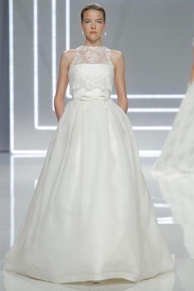60 vestidos de novia corte princesa 2017 que querrás lucir ¡Elige el tuyo! Image: 50