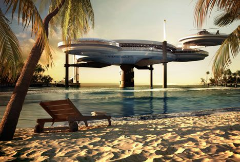 Deep Ocean Technology - Water Discus, underwater hotel, Dubai
