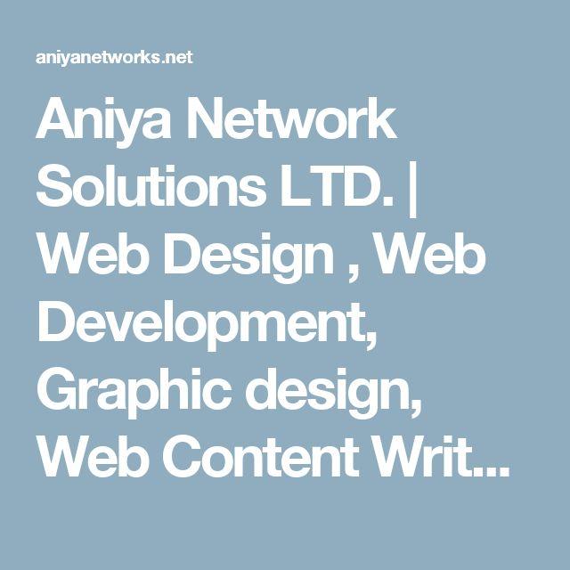 Aniya Network Solutions LTD. | Web Design , Web Development, Graphic design, Web Content Writer, Search engine optimization (SEO) , eMarketing