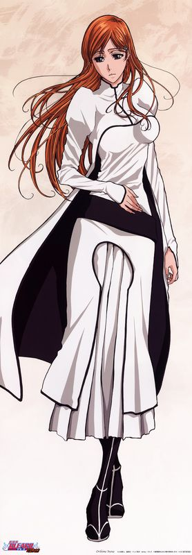 Orihime Inoue in the Arrancar arc of Bleach
