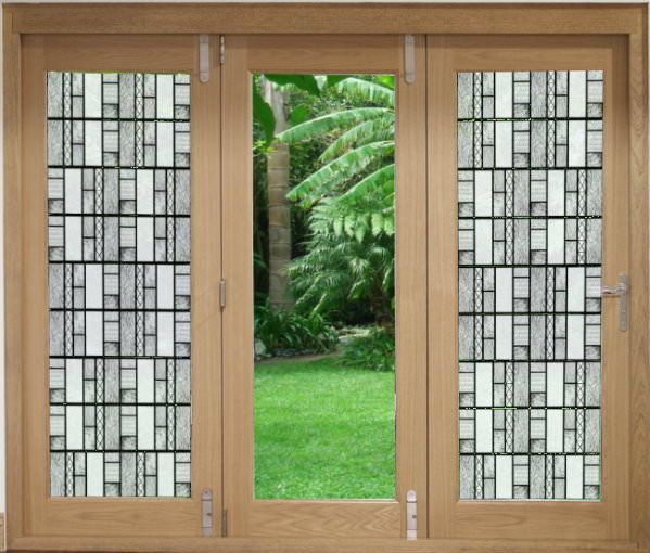 decorative window film textured glass window and door film - Decorative Window Film