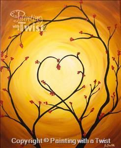 Jameson Camp's Women's Auxiliary Fundraiser - Indianapolis, IN Painting Class - Painting with a Twist