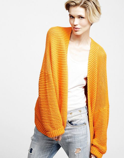 Ravelry: VIVIENNE CARDIGAN pattern by Wool and the Gang HQ KNITKNIT Pinte...