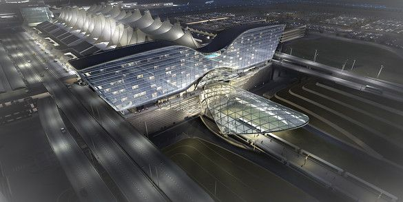 The Airport Of The Future Is About More Than Takeoff And Landing | Co.Exist: World changing ideas and innovationAirports Architecture, Airports Design, Denver International, International Airports, Airports South, Dia South, South Terminal, Gensler Projects, Denver Airports