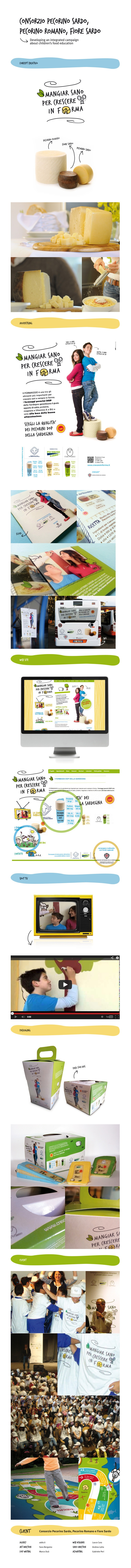Developing an integrated campaign   about children's food education