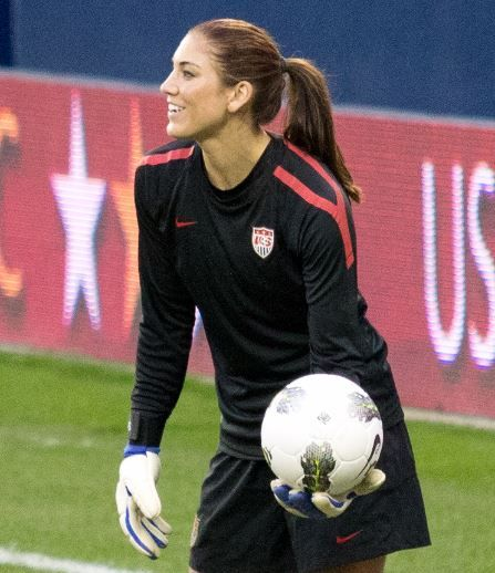 Hope Solo, USA  Top 10 Best Female Soccer Players 2015  http://www.sportyghost.com/top-10-best-female-soccer-players-2015/