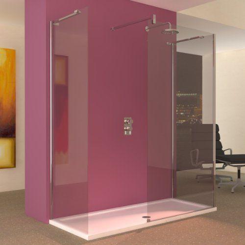 Line Bathroom Walk In Shower Enclosure With Tray 1700 X