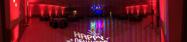 Panoramic photo of Camoes Portuguese Club of Harrow.    Lighting and DJ services by Lights Sound Action Entertainment Services.  Lights Sound Action Entertainment Services provides DJ, AV, Emcee, lighting and special effects for Windsor, Essex, Kent and S/W Ontario.  Step towards the light.  www.lightssoundaction.ca  #LSAES