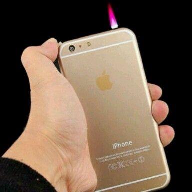 Quẹt iphone 6, có đèn pin