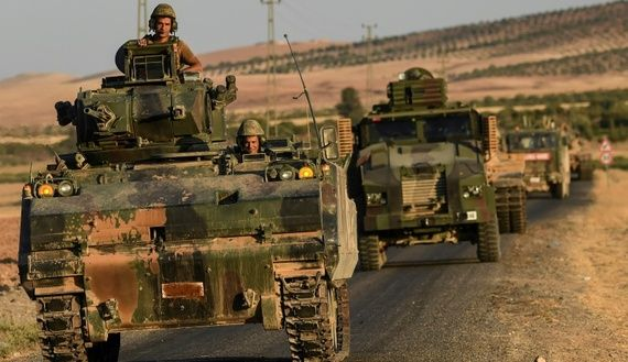 """3/6/17 Turkey steps back from striking Syria's Manbij    Turkey on Monday stepped back from threats to strike Syrian Kurdish militia forces deployed in Manbij, a former Islamic State group bastion, unless it was in cooperation with Russia and the United States. Prime Minister Binali Yildirim's announcement came after Ankara on Thursday threatened to strike Syrian Kurdish forces -- considered """"terrorists"""" by Turkey -- if they did not withdraw..."""