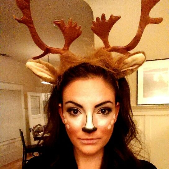 deer halloween makeup - photo #8