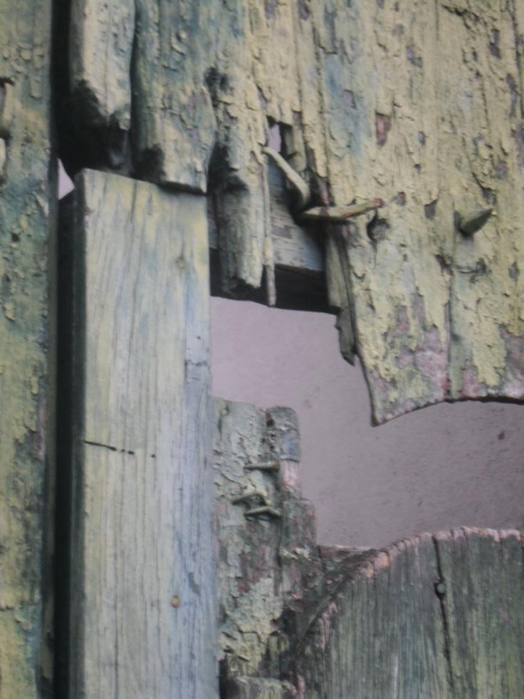 Detalle puerta Juan de Vargas, Tunja