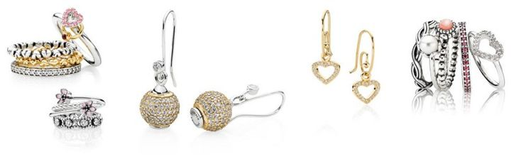 PANDORA smycken - Ringar & örhängen
