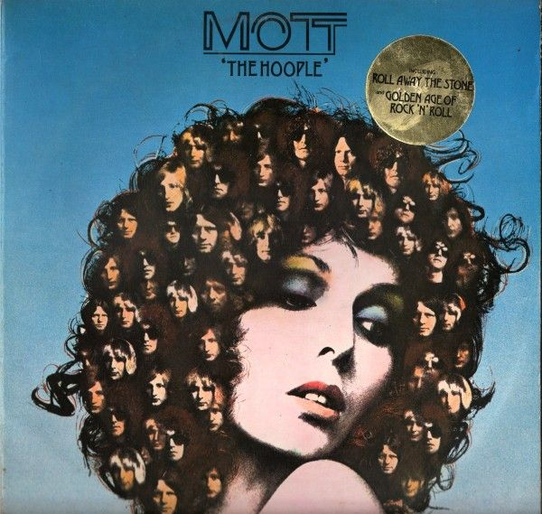 The Hoople Cbs 1974 Mott The Hoople Rock Album Covers Hoople